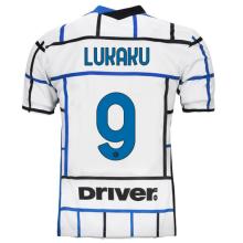 LUKAKU #9 In Milan 1:1 Away Fans Soccer Jersey 2020/21 (Have DRIVER)