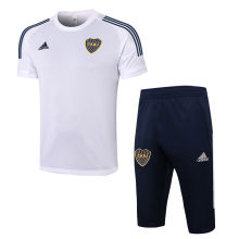 2020/21 Boca White Training Short Tracksuit