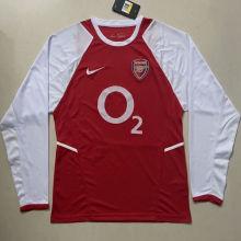 2002-2003 ARS Home Retro Long Sleeve Soccer Jersey