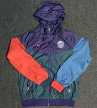 2020/21 PSG Red Purple Green Windbreaker