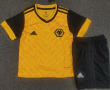 2020/21 Wolves Home Kids Soccer Jersey