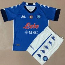 2020/21 Napoli Home Kids Soccer Jersey