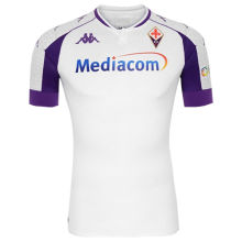 2020/21 Fiorentina Away White Fans Soccer Jersey