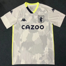 2020/21 Aston Villa Third White Fans Soccer Jersey