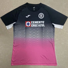 2020/21 Cruz Azul Black And Pink Fans Soccer Jersey