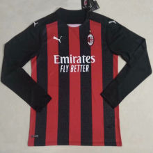 2020/21 AC Home Long Sleeve Soccer Jersey