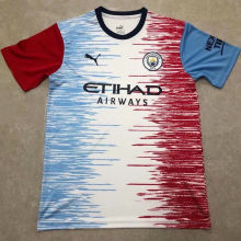 2020/21 Man City Contest Shirts Designed By Girl Soccer Jersey
