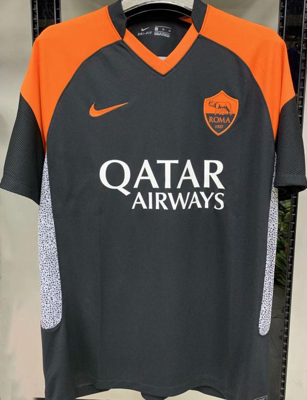 2020/21 AS RM 1:1 Third Black Fans Soccer Jersey