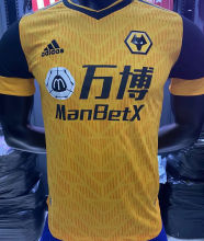 2020/21 Wolves Home Player Soccer Jersey
