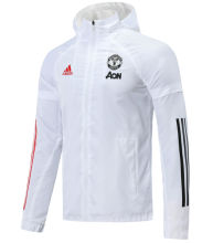 2020/21 M Utd  White windbreaker