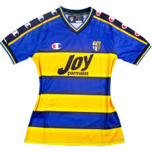 2001/2002 Parma Home Yellow Retro Soccer Jersey