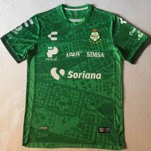2020/21 Santos Laguna Día De Muertos Green Fans Soccer Jersey