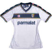 2002/03 Parma Away White Retro Soccer Jersey