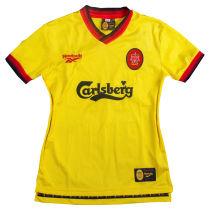 1997/1998 LIV Away Yellow Retro Soccer Jersey