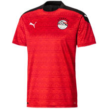2020/21 Egypt Home Red Fans Soccer Jersey