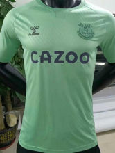 2020/21 Everton Away Green Player Version Soccer Jersey
