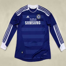 2011-2012 CFC Home Retro Long Sleeve Retro Soccer Jersey