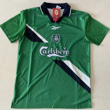 1999/2000 LIV Away Green Retro Soccer Jersey