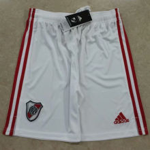 2020/21 River Plate Home White Short Pants