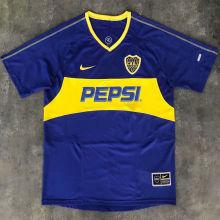 2003/2004 Boca Home Retro Soccer Jersey