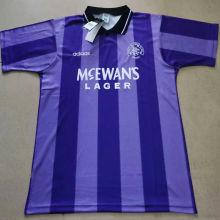 1994/95 Rangers Purple Retro Soccer Jersey