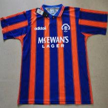 1993/94 Rangers Retro Soccer Jersey