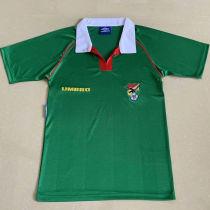 1994 Bolivia Home Green Retro Soccer Jersey