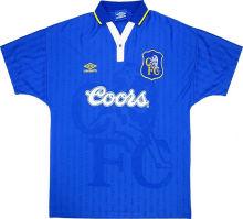 1997/98 CFC Home Blue Retro Soccer Jersey