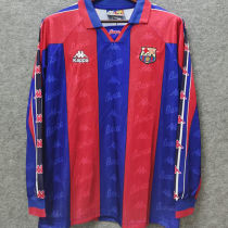 1996/97 BA Home Long Sleeve Retro Soccer Jersey