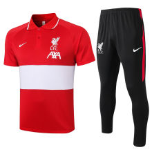 2020/21 LIV Red And White Polo Tracksuit