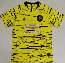 2020/21 M Utd Yellow Training Jersey