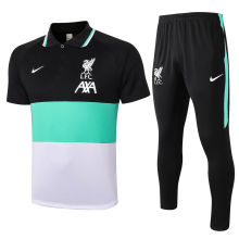 2020/21 LIV Green Black And White Polo Tracksuit