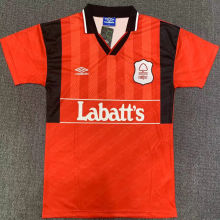 1994/96 Nottingham Home Red Retro Soccer Jersey
