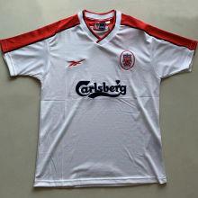 1998/99 LFC Away White Retro Soccer Jersey