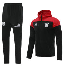 2020/21 BFC Red And Black Hoody Zipper Jacket Tracksuit
