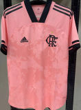 2020/21 Flamengo 1:1 Quality Pink Fans Soccer Jersey