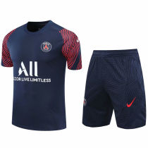 2020/21 PSG Blue Short Training Jersey(A Set)