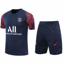 2020/21 PSG Blue Short Training Jersey(A Set)