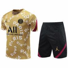 2020/21 PSG Golden Short Training Jersey(A Set)