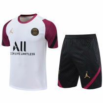 2020/21 PSG White Short Training Jersey(A Set)