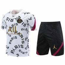 2020/21 PSG White Short Training Jersey(A Set)