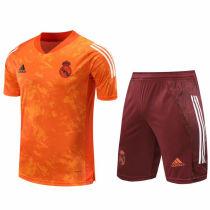 2020/21 RM Orange Short Training Jersey(A Set)