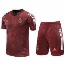 2020/21 RM Purple Short Training Jersey(A Set)