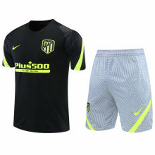 2020/21 ATM Black Short Training Jersey(A Set)