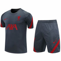 2020/21 LFC Grey Short Training Jersey(A Set)