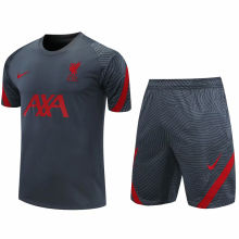 2020/21 LFC Grey Short Training Jersey(A Set)