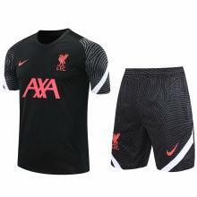 2020/21 LFC Black Short Training Jersey(A Set)