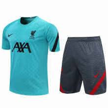2020/21 LFC Blue Short Training Jersey(A Set)