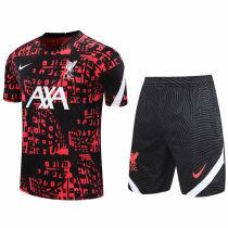 2020/21 LFC Red Black Short Training Jersey(A Set)
