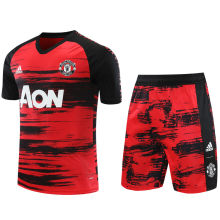 2020/21 M Utd Red Black Short Training Jersey(A Set)